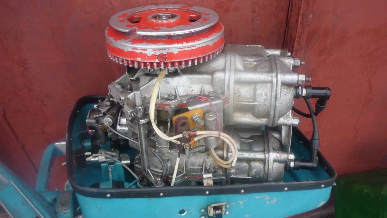 лодочный мотор нептун 23 то заводится то не заводится