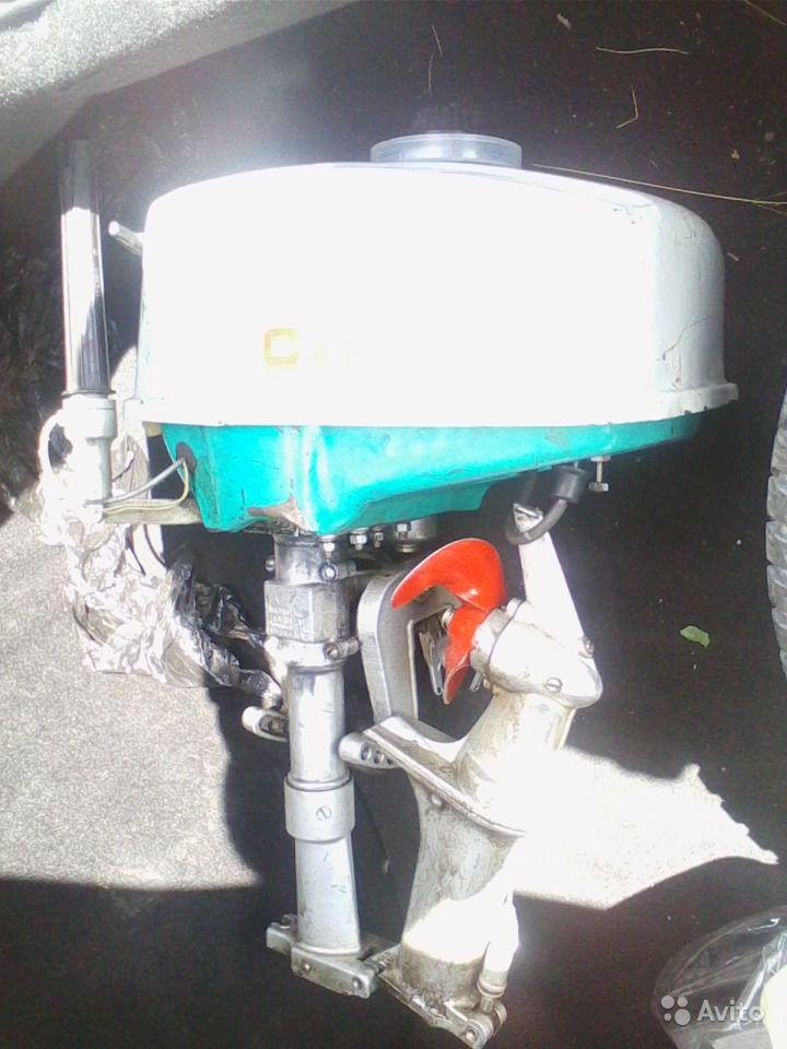 мотор Салют-ЭС в сложенном положении