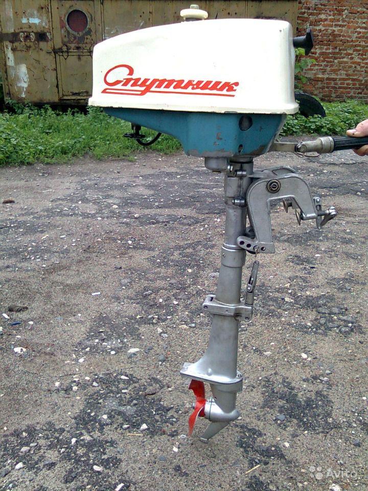 лодочные моторы спутник характеристики