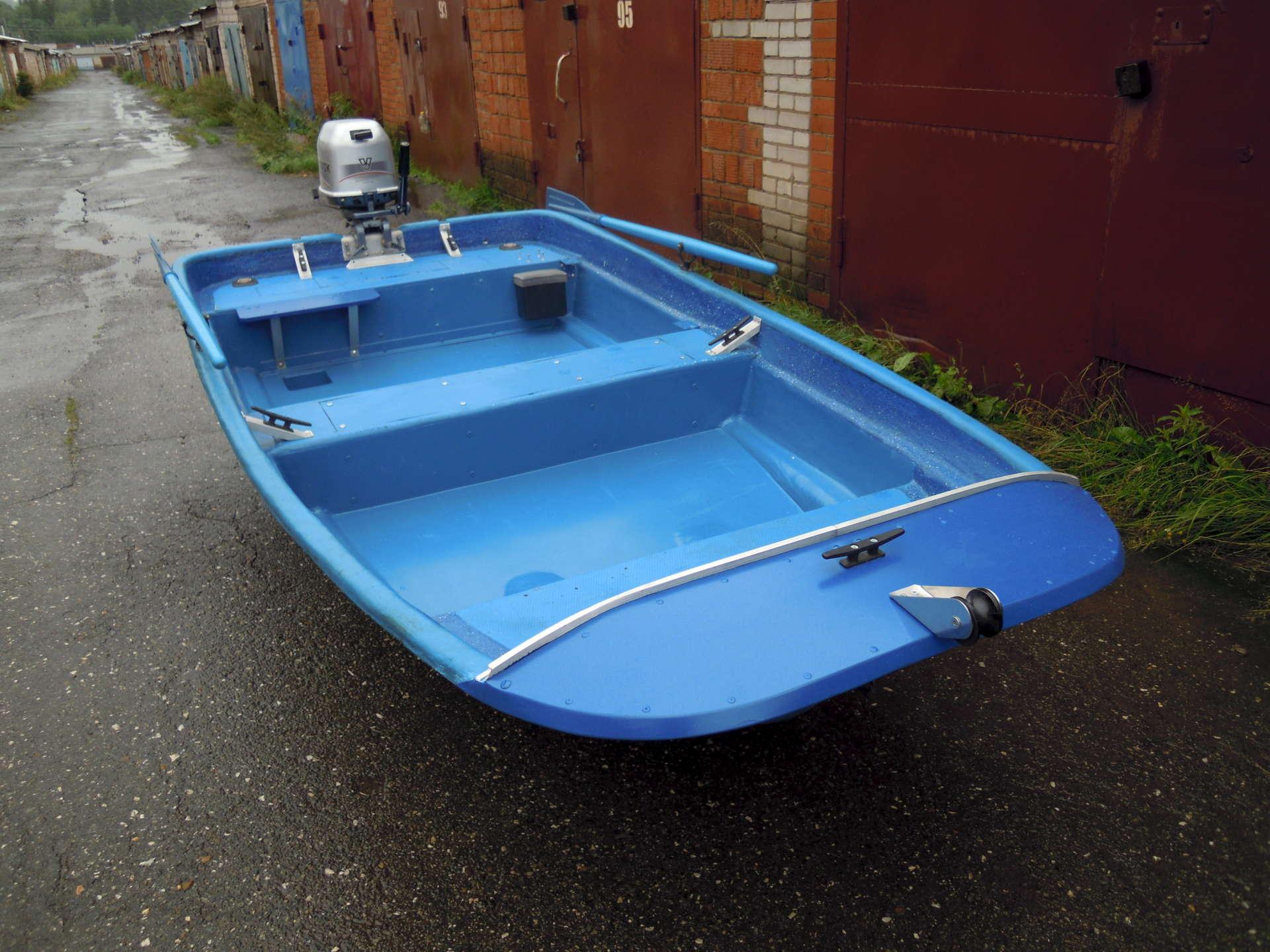Ветерок-9.9 на лодке