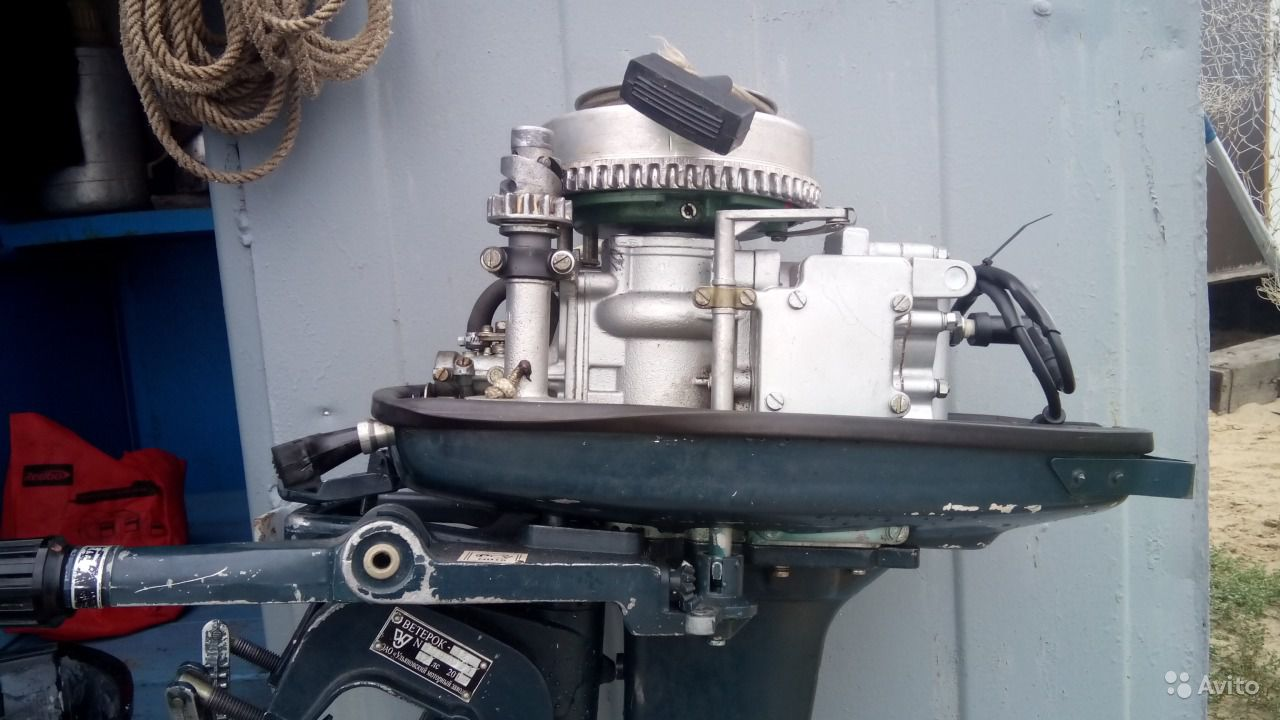 мотор Ветерок-12