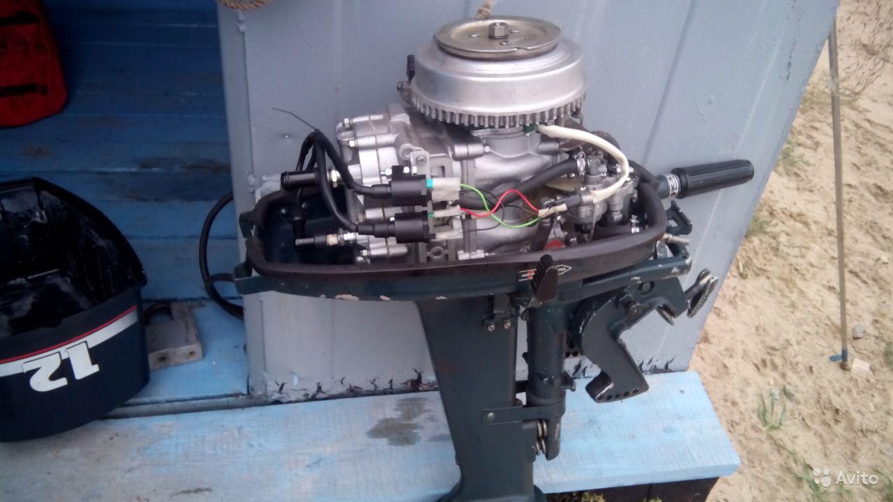 лодочные моторы ветерок 8 и 12 отличия