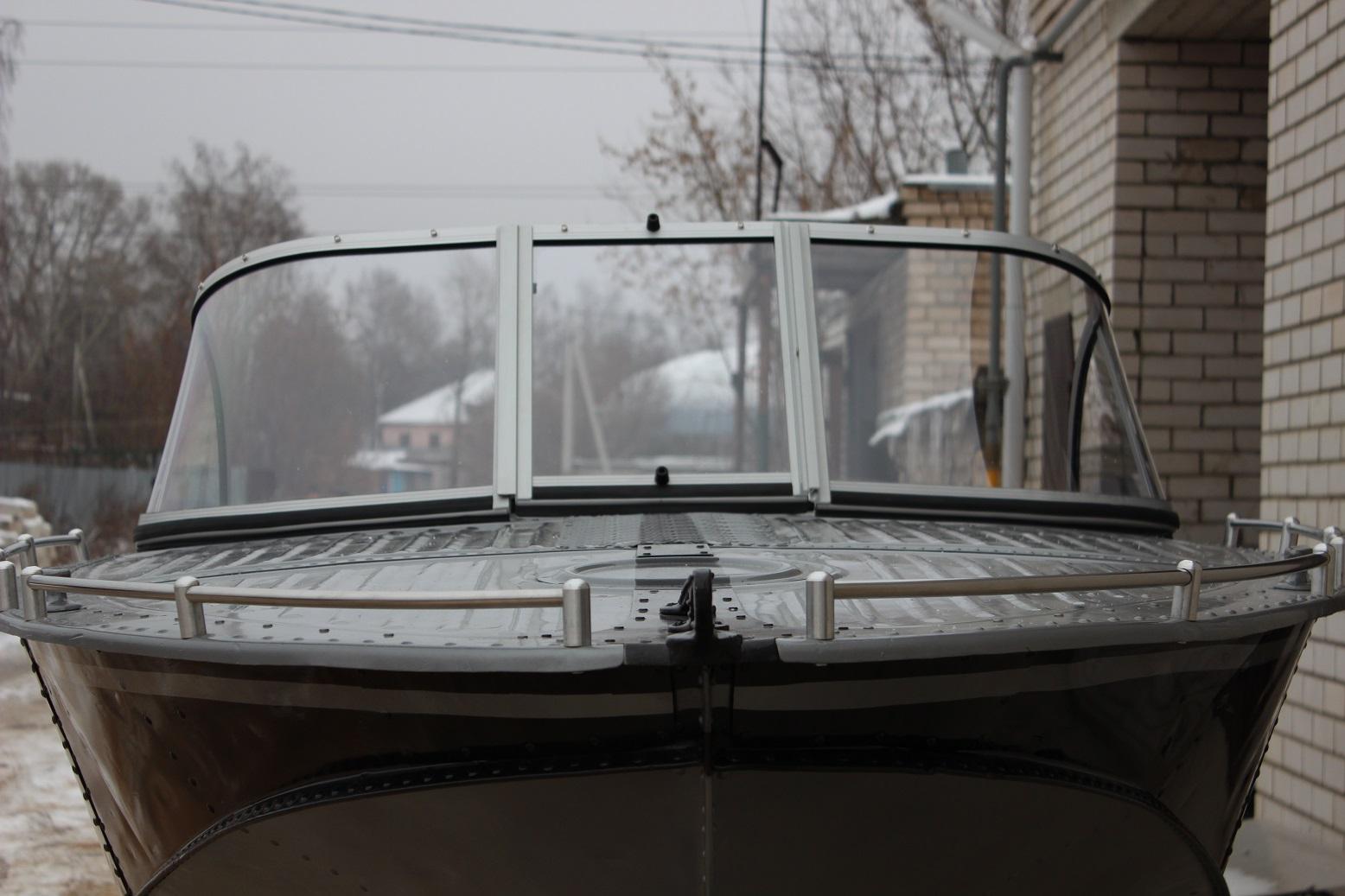 Ветровое стекло на лодку с калиткой своими руками