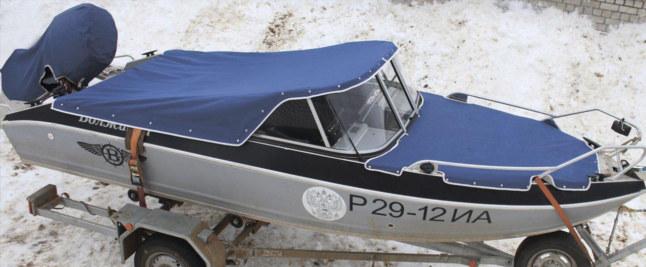Тент на лодку ПВХ своими руками (носовой, ходовой) 66