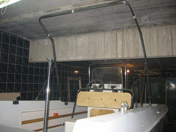 мотолодка из катера С-54