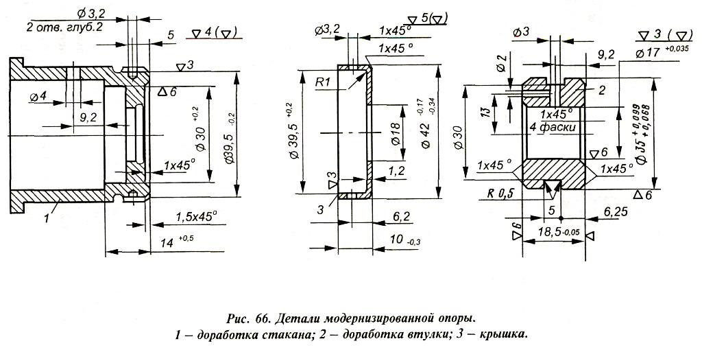 """Уплотнение гребного вала мотора """"Вихрь"""""""