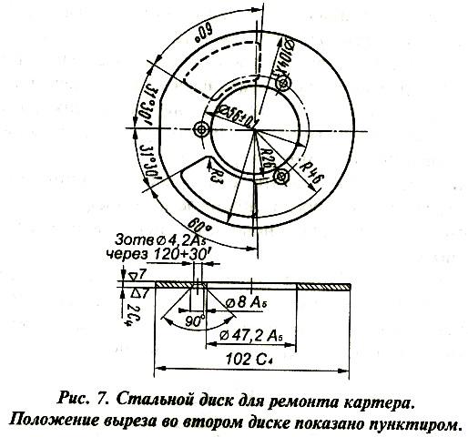 Ремонт двигателя мотора «Вихрь». Восстановление герметичности картера