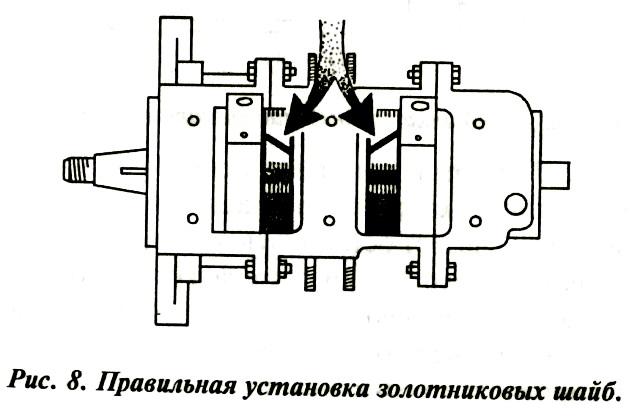 Ремонт двигателя мотора «Вихрь». Правильная установка золотников.