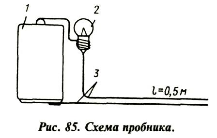 Установка опережения зажигания с помощью лампочки