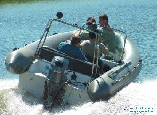 "О RIB лодке ""Raider-520"" и ""Raider-520 Fish"""