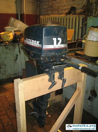 Переборка и доводка мотора Ветерок12