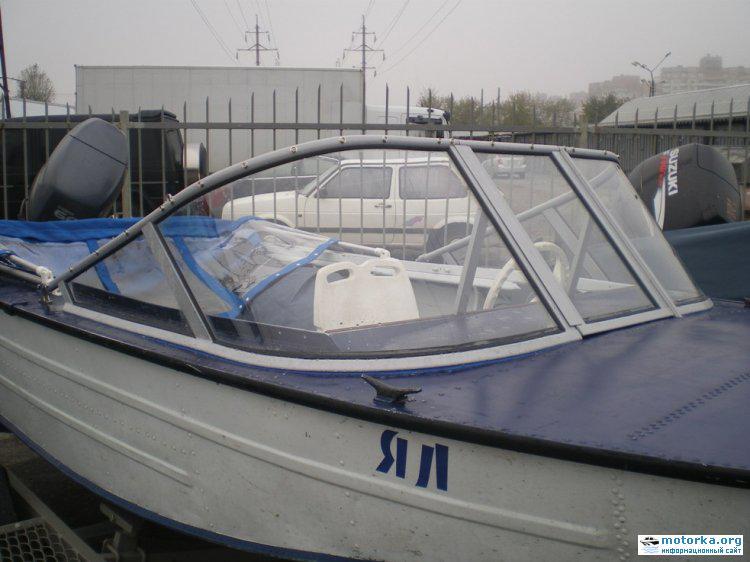 тюнинг стекла лодки Днепр