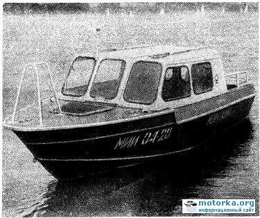 Вишера - Новая лодка для туризма