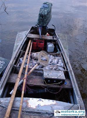 Лодка браконьеров