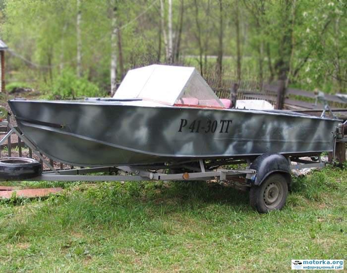 работать моторная лодка прогресс с самодельной крышей фото является одним