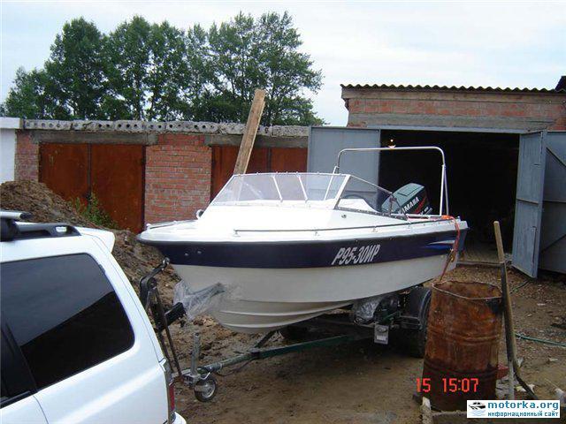 моторная лодка Темп