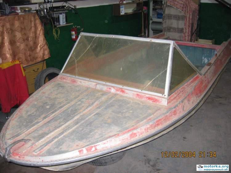 лодка Крым в родной краске