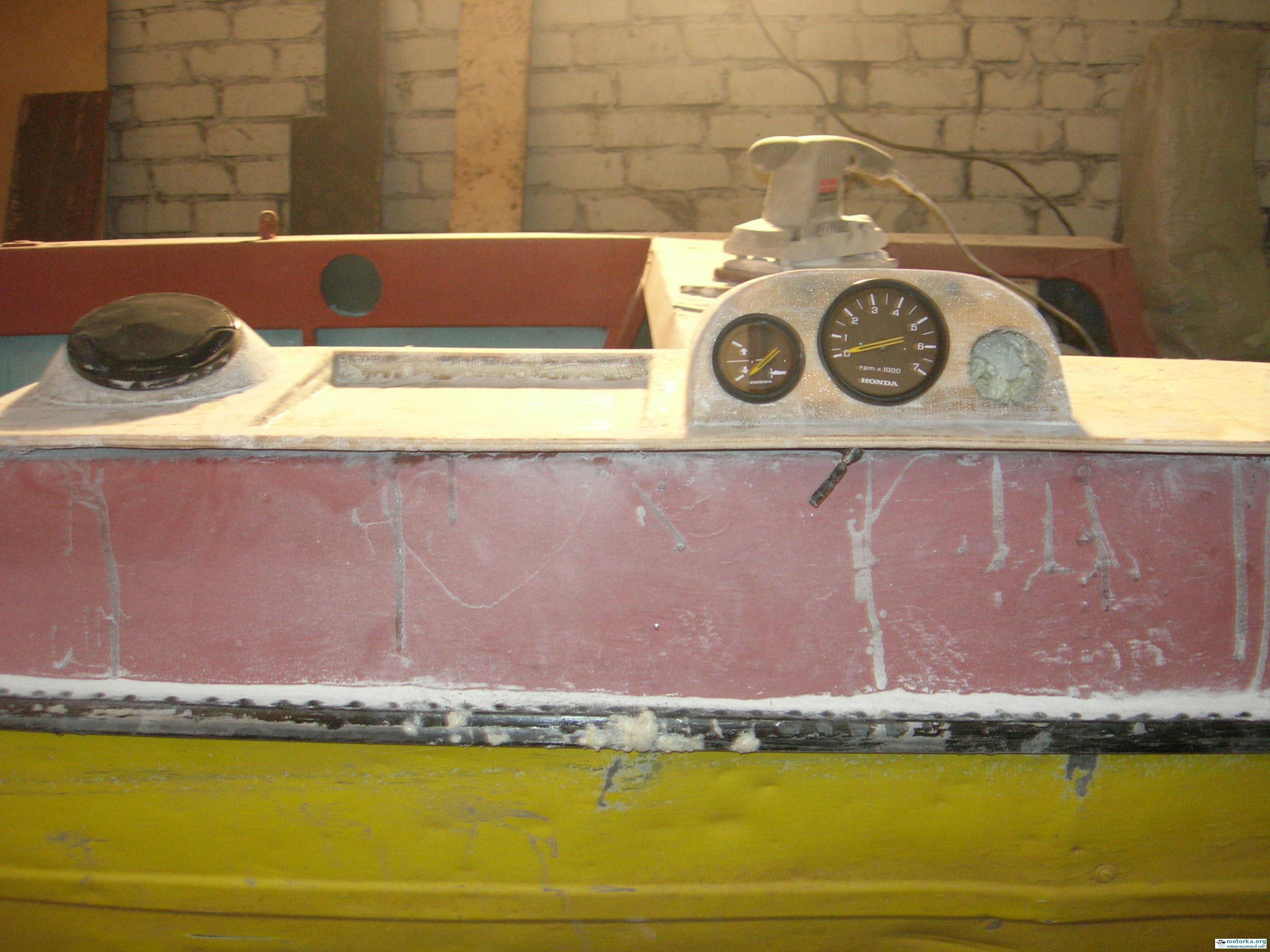 ремнонт лодки Крым-М