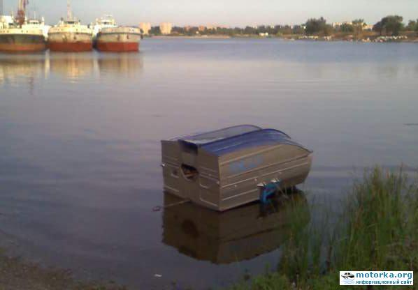 Лодки-прицеп Дон в состоянии прицепа