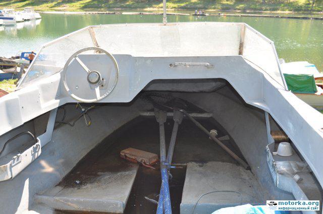 лодка Темп, внешний вид убежища