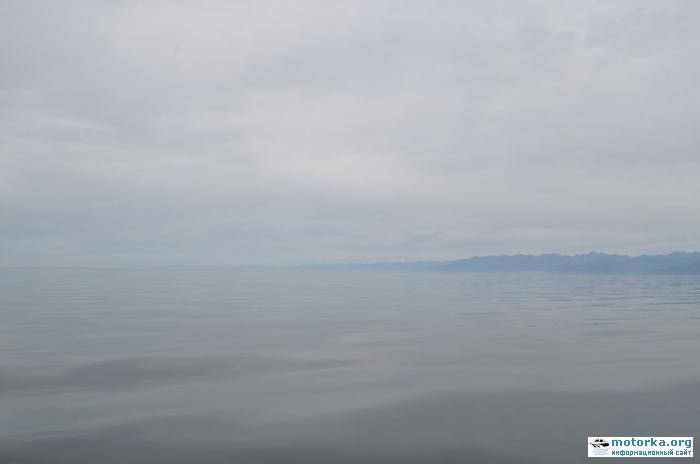 По Байкалу на моторной лодке (июль 2011)