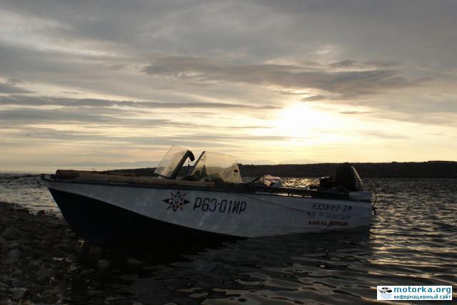 Поход на моторной лодке по избранным местам Байкала (июль 2010)