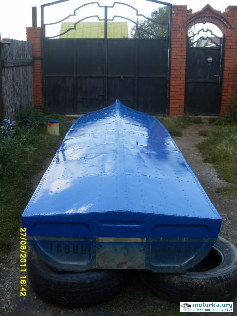лодка казанка-1