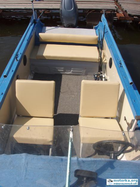 моторная лодка Казанка2М