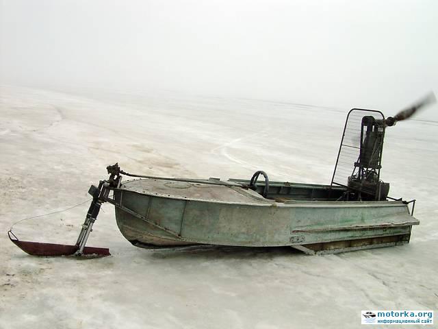 Глиссер из моторной лодки