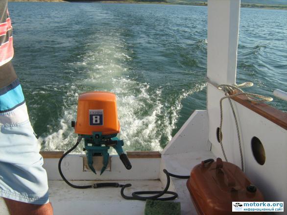 лодочный мотор Ветерок-8М