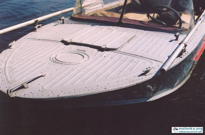 О модернизации лодки Казанка-2М