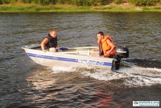 Моторно-гребная лодка Windboat-29