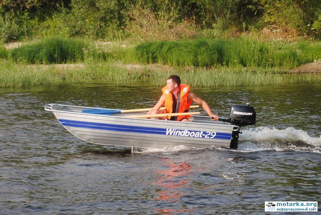 Моторная лодка Windboat-29