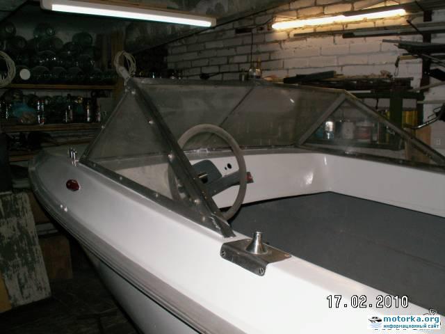 кокпит лодки Кафа-2500