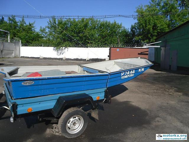 лодка Кейс, вид со стороны транца