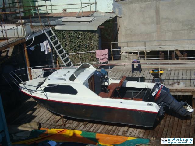 Лодка Москва-2, вид сверху