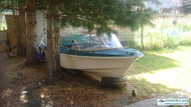 лодка Ладога