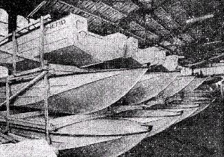 производство лодки Днепр