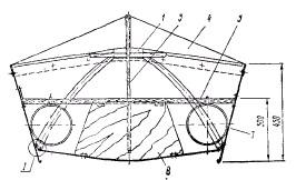Конструкция лодки Мечта