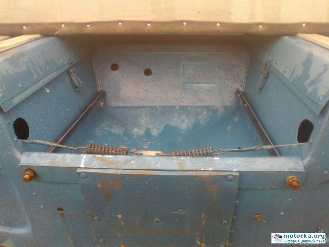 Самоотливной рецесс лодки Обь-3