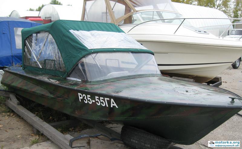 Лодка Обь-1 ГАЗИСО