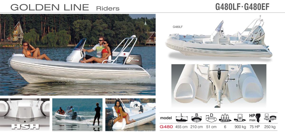 Grand Golden Line G480 Rider