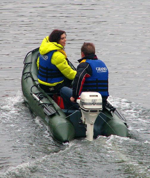 Grand Argus Canoes A450p