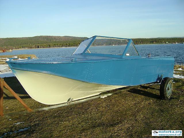 Моторная лодка Казанка-2М