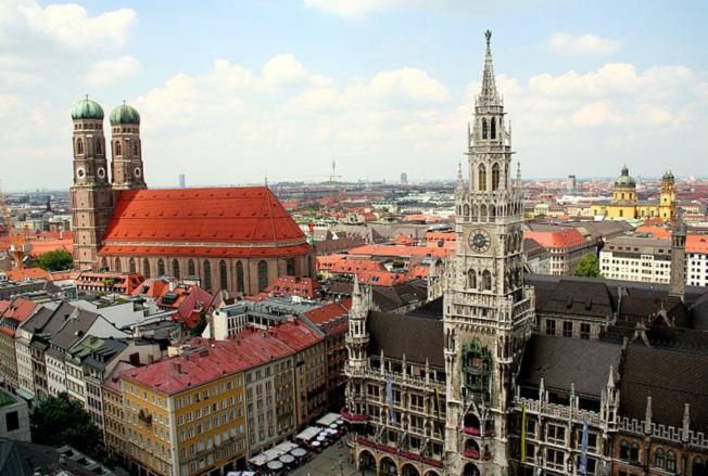 Сердце туристической Баварии - Мюнхен
