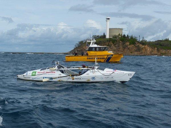 Новый рекорд! Тихий океан на велельной лодке за 159 дней