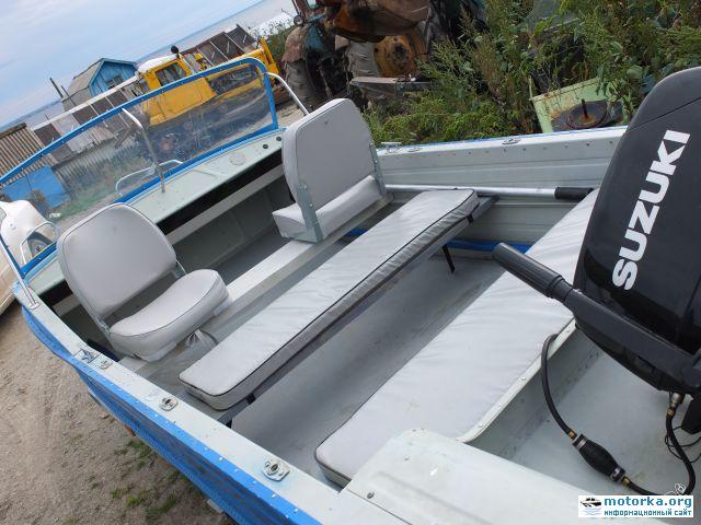 кокпит лодки Воронеж-М