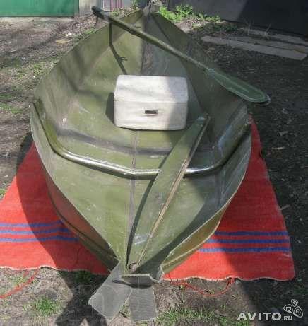 Лодка гребная охотничья складная