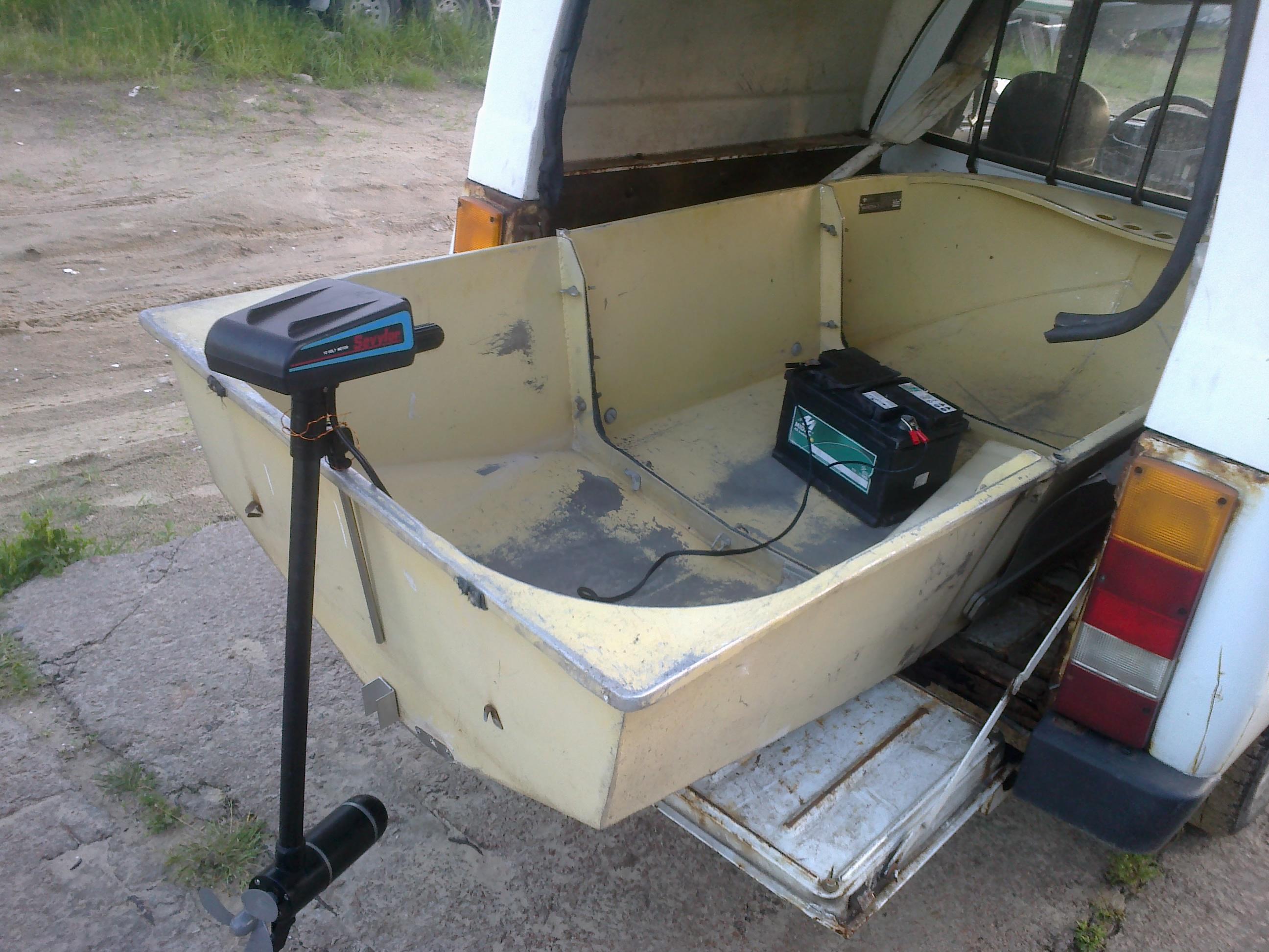 Малютка-3 с электромотором