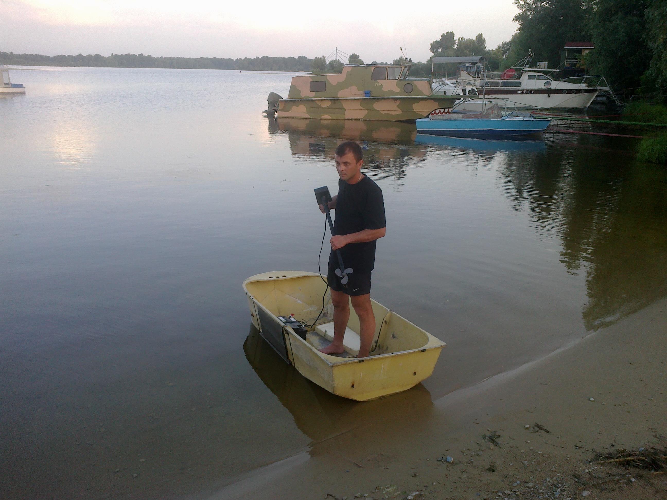 лодка Малютка-3
